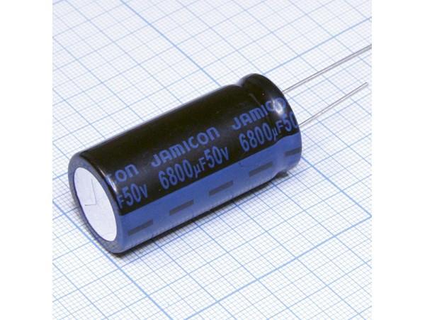 Конд.6800/50V 2245 +105°С Jamicon