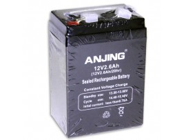 Аккумулятор 12V/2.6Ah ANJING 12-2.6 70x47.5x101мм