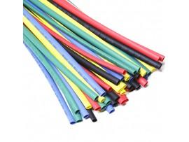 29-0155 набор термоусадки d=5, 5 цветов, 5х10м REXANT