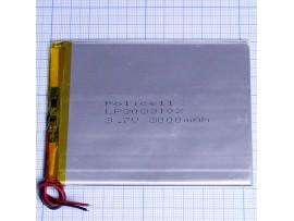 LP3083102-PCB-LD аккумулятор 3,7V/3000mAh Li-Pol
