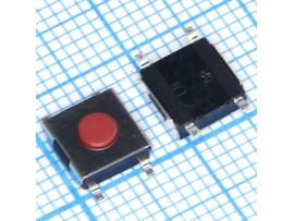 SWT6x6-2.5 SMD мет. перекл. такт. 6х6х2.5мм