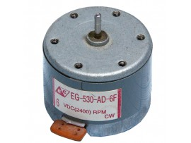 МОТ 6V EG-530AD-6F CW d=32;h=25, 2400 об/мин
