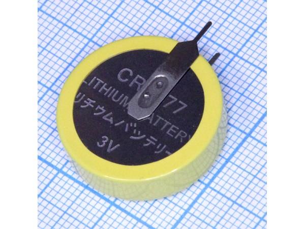 CR2477/VCN Батарея 3V верт. выводы
