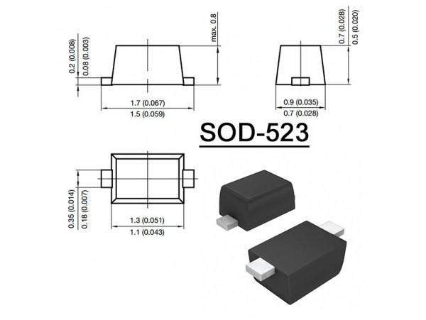 ESD5Z12T1G диод защитный