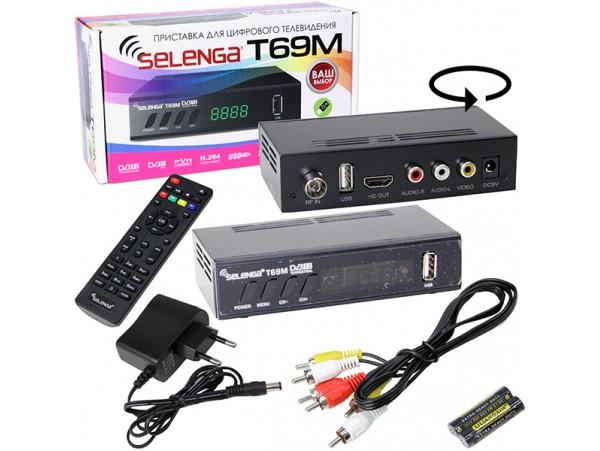 Selenga HD860D ресивер эфирный