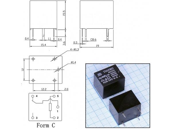 HJR3FF-S-Z-09VDC реле 9VDC