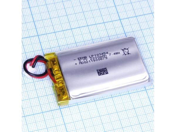LP103454-PCM-LD Аккумулятор 3.7V 2000mAh Li-Pol