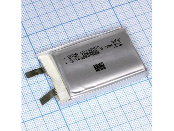 LP103450 Аккумулятор 3.7V 1850mAh  Li-POL EEMB