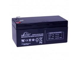Аккумулятор 12V/3.2Ah DJW12-3.2 134x68x60 мм  LEOCH