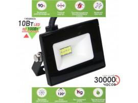 LEEK LE FL SMD LED7 10W CW прожектор чёрный IP65