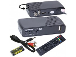 World Vision T64D ресивер кабельный DVB-C, DVB-T2