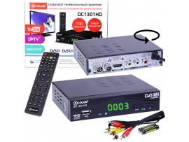 D-COLOR DC1301HD ресивер эфирный DVB-T2,HD