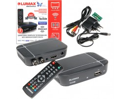 LUMAX DV-1115HD ресивер эфирный HD DVB-T2, Wi-Fi