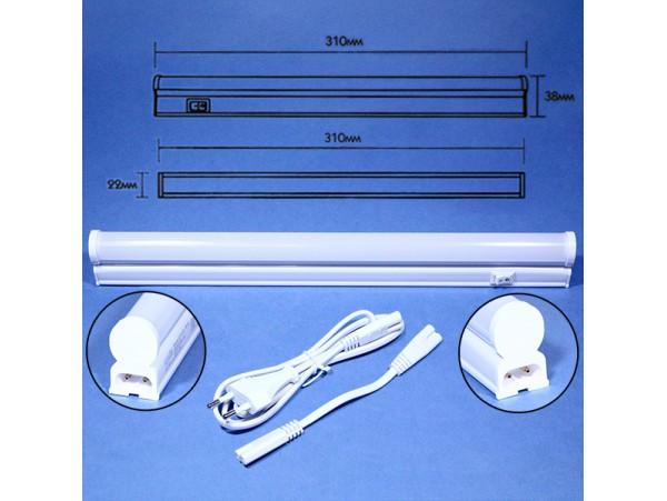 LE T5 LED 5W 5000K светильник IP20 310x22x38