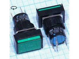 AL6-M12V 12V/5A on-(on) зелёная кнопка
