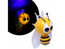 Светильник ночник LE LED NL-852 0.5W RGB Пчёлка