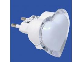 Светильник ночник LE LED NL-838 0,3W Сердце
