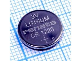 CR1220 Батарея 3V RENATA