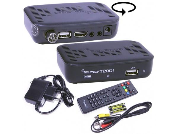 Selenga T20DI ресивер эфирный+кабельный DVB-C