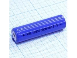 Аккумулятор 3,7V/5000 mAh XSL18650 (d=18;L=65) China