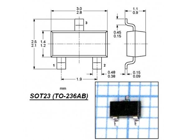 LM60CIM3 датчик температуры