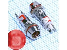 L-616-R светодиод в корпусе, 220VAC красный