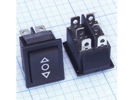 KCD2-213-3 250V/16A (on)-off-(on) переключатель