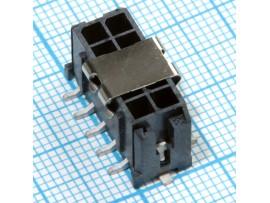 MF3-2х05M SMD вилка на плату Micro-Fit
