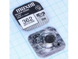 Элемент питания 1,55V SR721SW (G11) серебряно-цинковый
