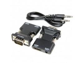 Конвертер HDMI => VGA штекер