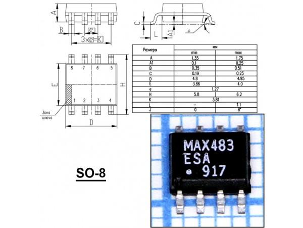 MAX483ESA
