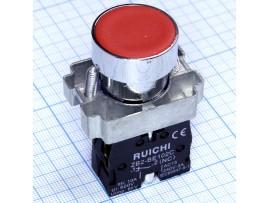 3SA8-BA42 240V/3A on-(off) красная кнопка