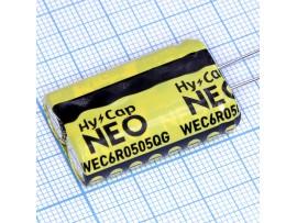 Ионистор 6V/5F WEC6R0505QG