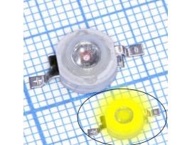 LED 3W 2,2V/700mA LXHL-YWE 60Lm желтый