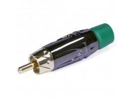 RCA Вилка ACPL-CGR зеленая