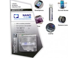 Nano-пленка (жидкое стекло) для защиты экрана