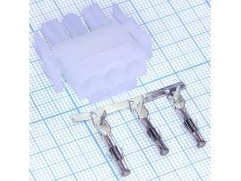 MFT-1x3F розетка на кабель Mini-Fit, шаг 6,35