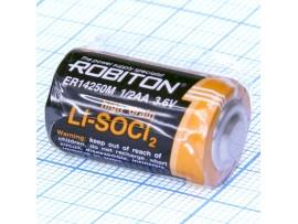 ER14250M Батарея 3,6V (AA1/2) Robiton