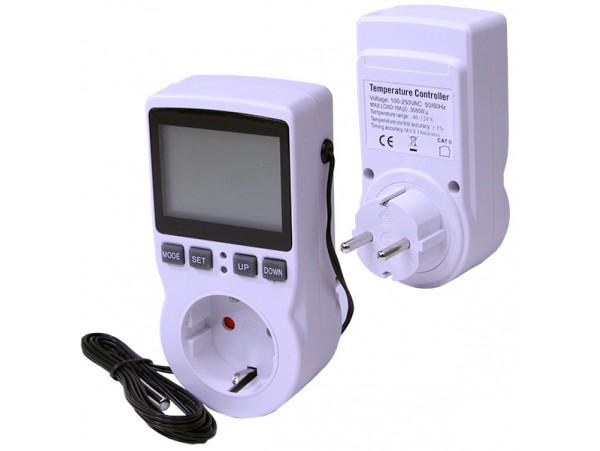 Терморегулятор цифровой 16А