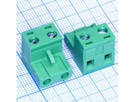 2EDGK-7.5-02P-14-00A(H) клеммник 2к шаг 7,5мм