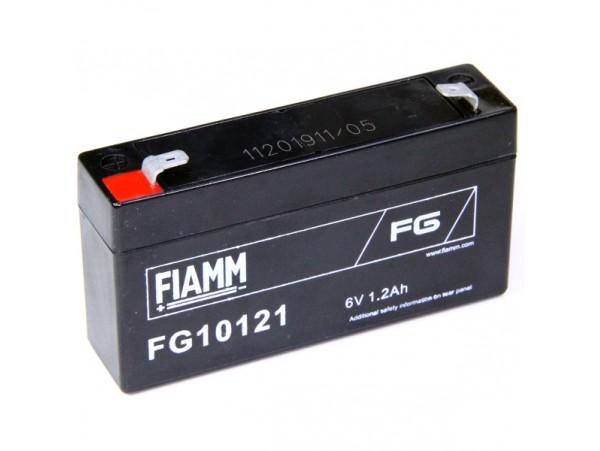 Аккумулятор 6V/1,2Ah FIAMM FG10121 97x24x52