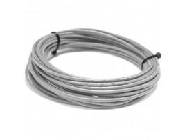 Провод 18AWG серый высокотемпературный силикон