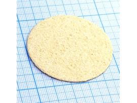 Губка d=5 см для чистки жала паяльника
