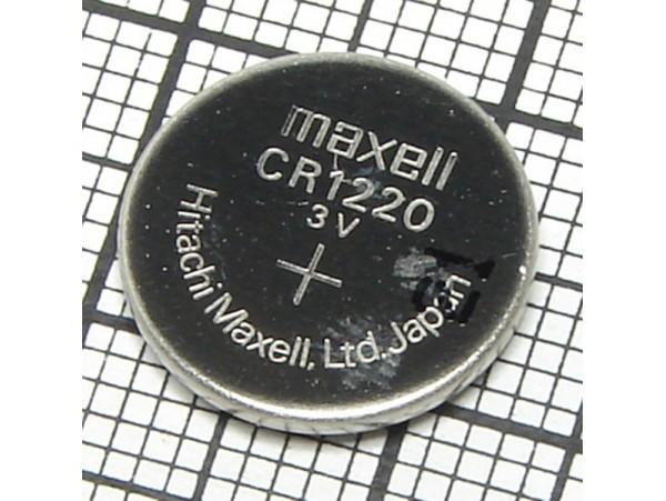CR1220 Батарея 3V Maxell