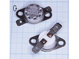 KSD-302-130°С 250V10A Термостат нормально замкнутый