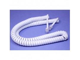 Шнур т/ф 4м(витой) Белый