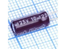 Конд.10/25V 0511 +105°C