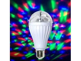 Лампа RGB E27 EL142  для световых шоу КОСМОС