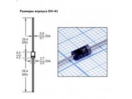 1N4001 (50V;1A) Диод