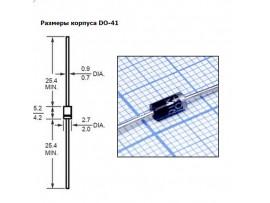 1N4007 (1000V;1A) Диод